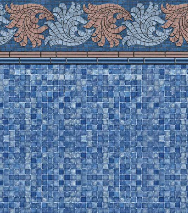 French Riviera Blue Mosaic