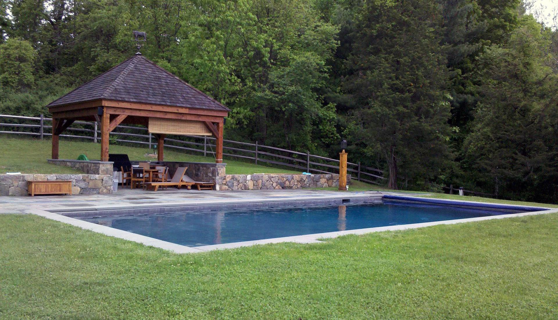 Custom Gunite Pool Connecticut